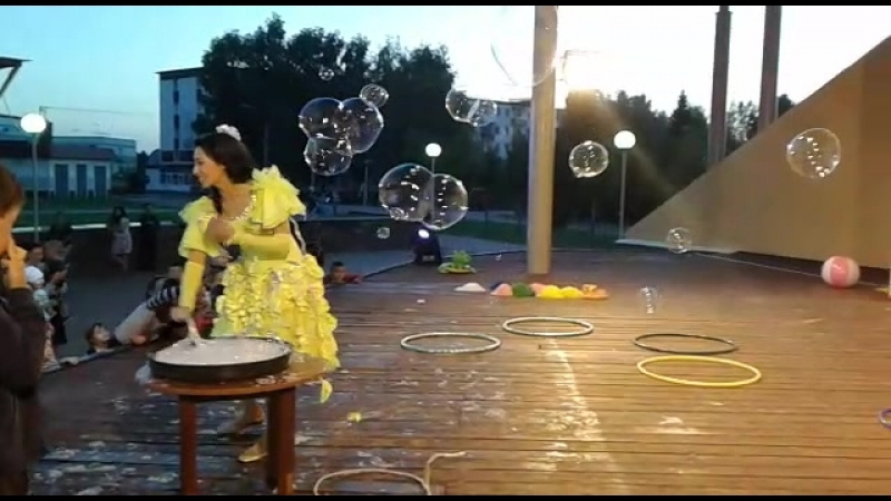 1 сцена пузыри фея серебрянка