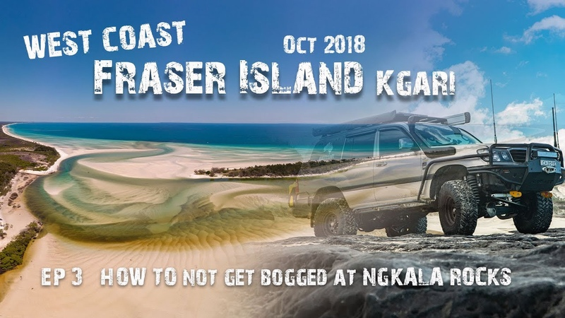Fraser Island | How to NOT get bogged at Ngkala Rocks | Wathumba Creek | EP3| | ALLOFFROAD