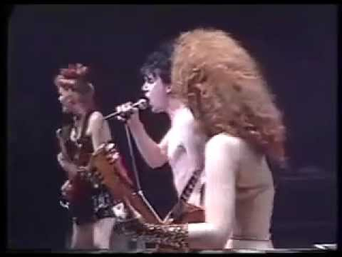 THE CRAMPS: Bourges, France, 1 April 1986, Heartbreak Hotel, Chicken 4 more with Fur Dixon