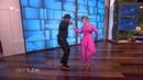 Sarah Paulson Dancing in Pink x4
