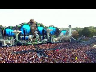 Dimitri Vegas & Like Mike vs. Nicky Romero - Here We Go @ Tomorrowland 2018