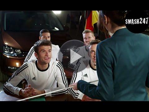 André Schürrle Thomas Müller Co Französisch Unterricht EM Fußball Stars drücken die Schulbank