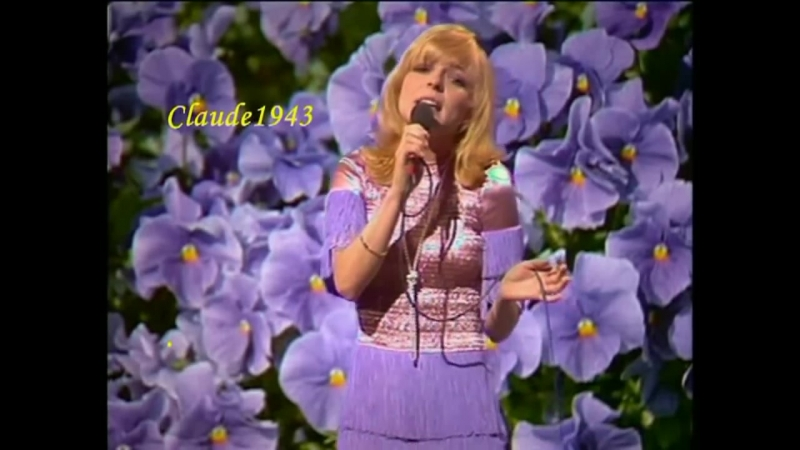 France Gall Dann schon eher der pianoplayer Live 1970 HQ