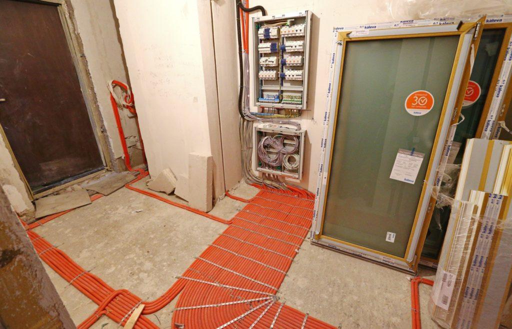 Электропроводка в новостройке цена