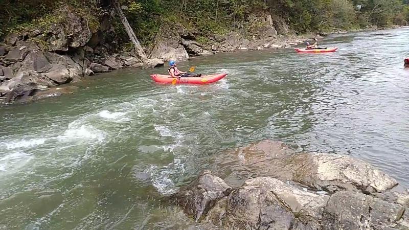 река Черный Черемош, Карпаты