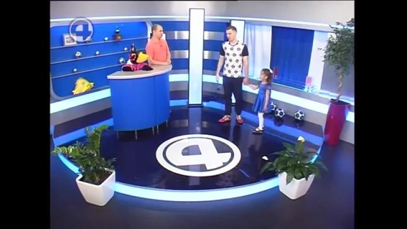 Тренер по жонглирование Эдик Павлов на ТВ