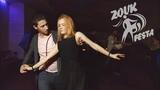 Festa Party. Dj Carioca and Ketrin. Zouk improvisation. (Let Her Go)