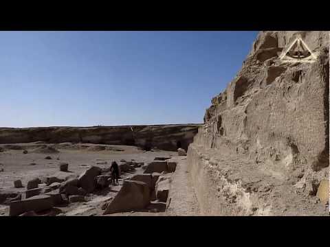 Гиза. Пирамида Менкаура. Giza. The Pyramid of Menkaure.