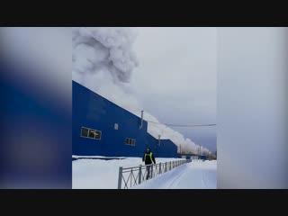 Видео: На заводе «Полипласт» в Кингисеппе прогремел взрыв