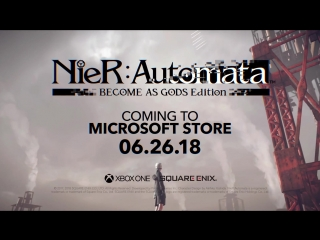 NieR Automata BECOME AS GODS Edition E3 Trailer