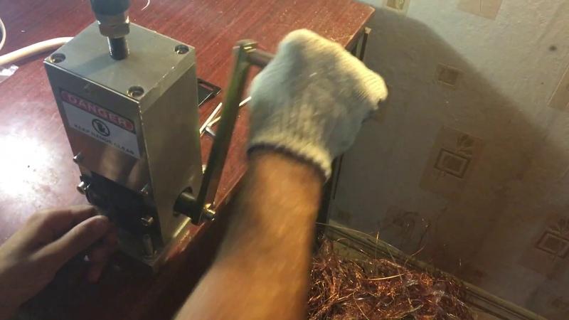 2) Ручной станок для разделки кабеля M-25 ввг