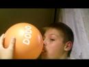 Вдыхаю целый шарик