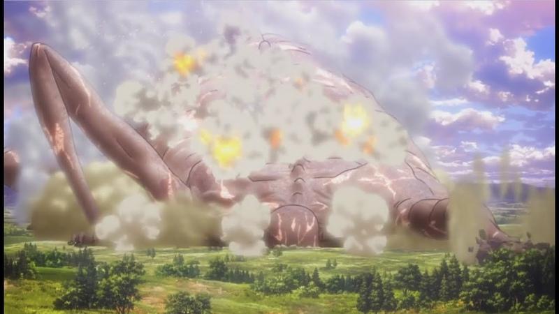 Attack on Biggest Titan Rod Reiss Attack on Titan Season 3 Episode 9 ENG SUB