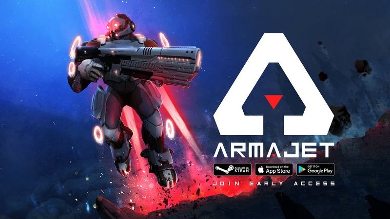 NEW Armajet Early Access Trailer - Worldwide reveal at GAMESCOM 2018 with RAZER!
