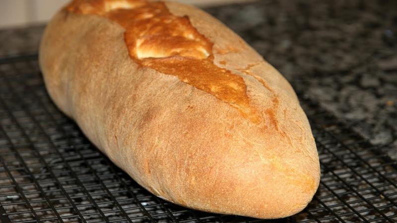 Классический итальянский хлеб.Пошаговый рецепт приготовления итальянского хлеба.