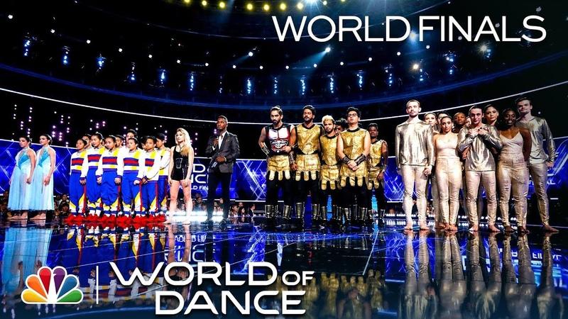 Jennifer Lopez, Derek Hough NE-YO Announce the Season 3 Champion - World of Dance Finals 2019