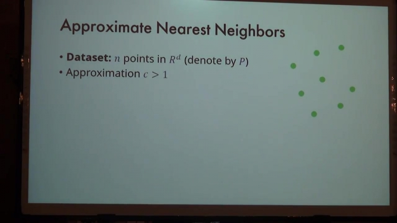 Lecture 11   Recent Advances in Algorithms   Ilya Razenshteyn