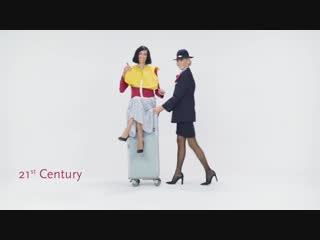95 Years of Czech Airlines Cabin Crew Uniforms