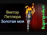 Виктор Петлюра - Золотая моя ( караоке )