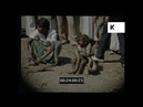 Poverty in 1985 Calcutta India HD from 35mm