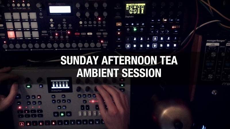 Sunday afternoon ambient session (Digitakt, Analog Four)