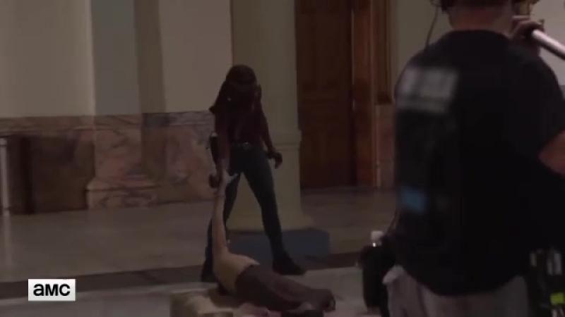 The Walking Dead S09E01 Featurette Post-Apocalyptic Washington D.C