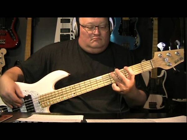 Dave Stewart featuring Candy Dulfer Lilly Was Here Bass Cover with Notes Tab