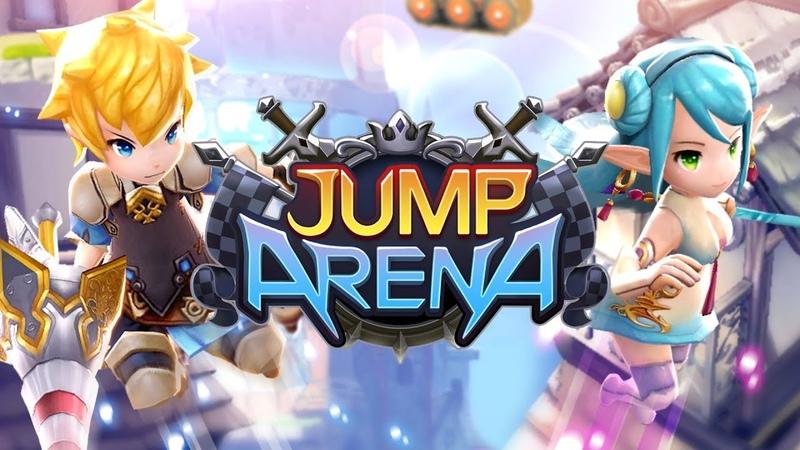 【JUMP ARENA】 от создателей легендарной Bless Online   MMORPG
