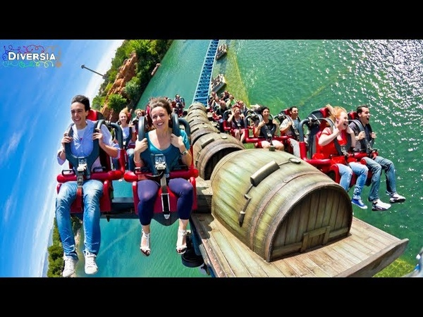 FURIUS BACO ONRIDE HD POV PORTAVENTURA WORLD LAUNCHED INTAMIN WING COASTER