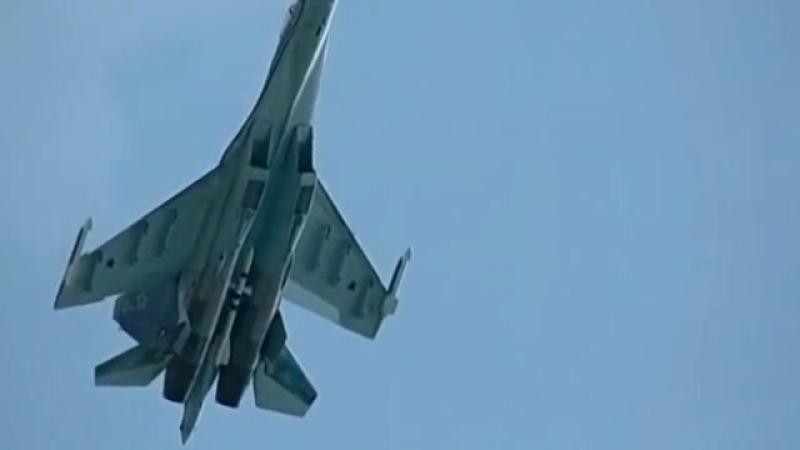 Российский самолет Су-35 против Eurofighter Typhoon