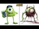 Cartoon Characters as Monsters 2017! 😱