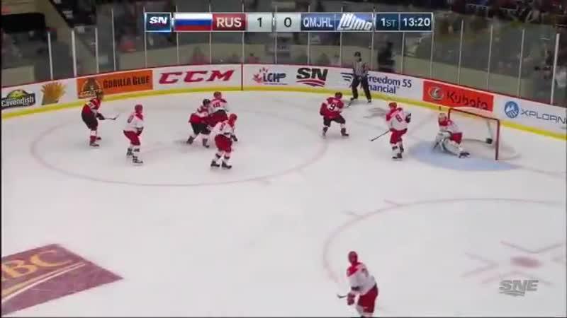 Квебек -- Россия. 1 период