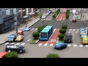 Cities: Skylines - First Person Bus Rapid Transit Line Ride