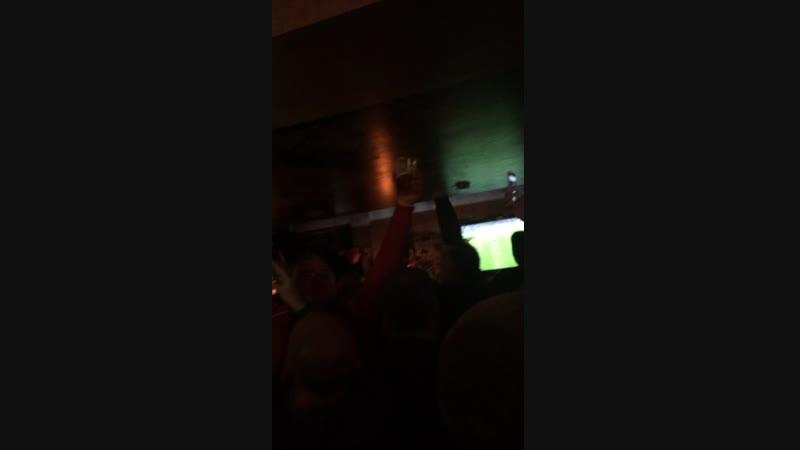 Liverpool Fans. Belgrade