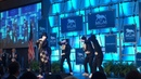 Jabbawockeez Dance Crew performs at MGM Springfield news conference