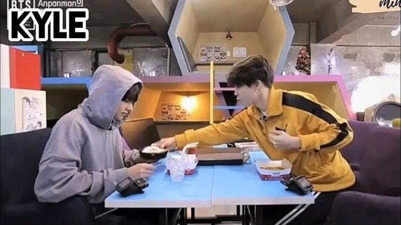 [Озвучка by Kyle] Чимин и Ви в Кафе Комиксов Отрывок Comeback Show BTS 2018