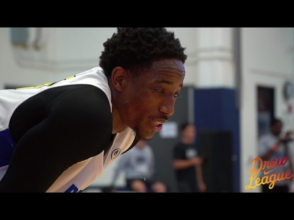 2018 Drew League Playoffs - DeMar DeRozan and Swaggy P Dominate Round 1 and 2