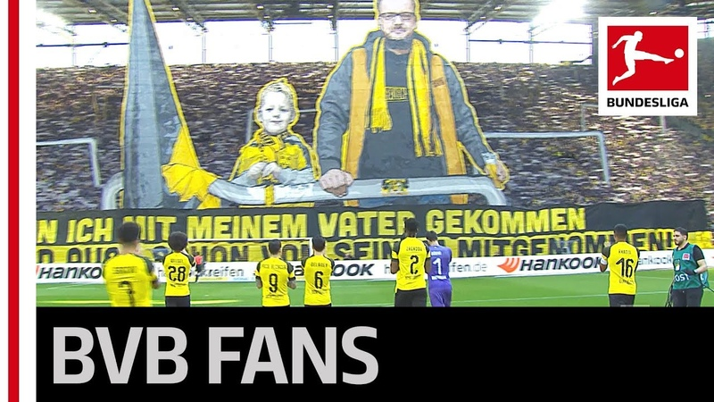 Pure Emotion in Dortmund - BVB Fans put on Spectacular Father-Son Tifo