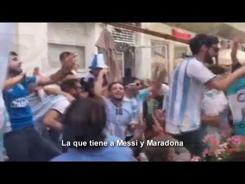 La que tiene a Messi y Maradona (Letra) Hit Argentina Mundial