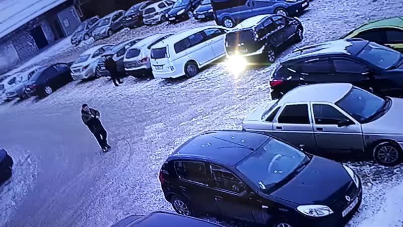 хонда пострадала плак