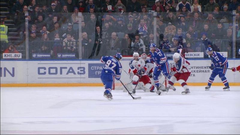 Моменты 2017/2018 • Юханссон спасает на последних секундах встречи