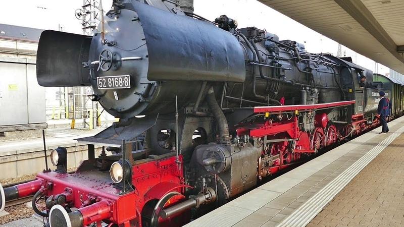 Dampflok BR 52 8168 in München Hbf !!