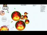 Kolibri NOOB vs PRO vs HACKER vs TROLL in Blob.io ( Game Like Agar.io Mobile )