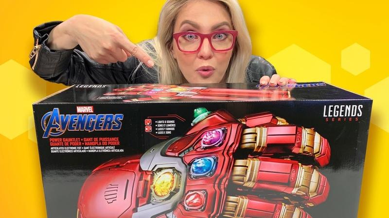 Avengers Endgame Power Gauntlet Unboxing