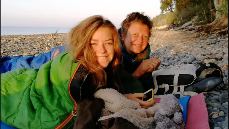Очередное исполнение маленькой мечты Ночевка на пляже Абхазия