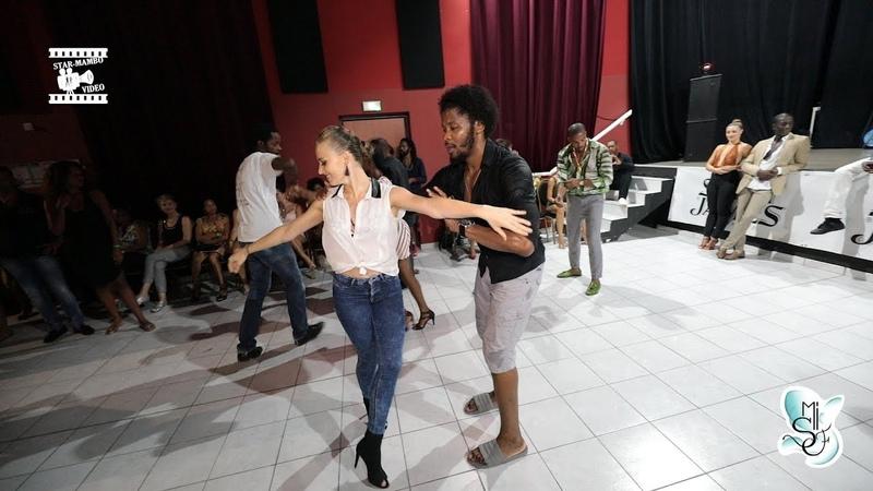Terry SalsAlianza Edyta - social dancing @ Martinique Int Salsa Festival 2018 …