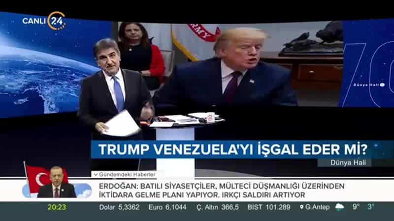 Selim Atalay ile Dünya Hali (28.01.2019)