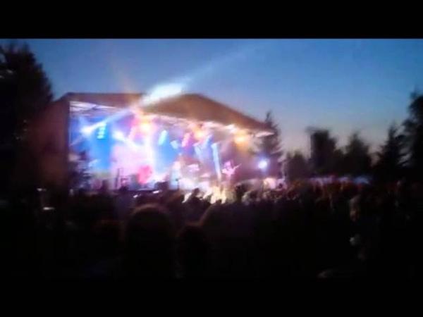 FRAM Son ar chistr Ev Sistr live in Belarus on Grunwald festival