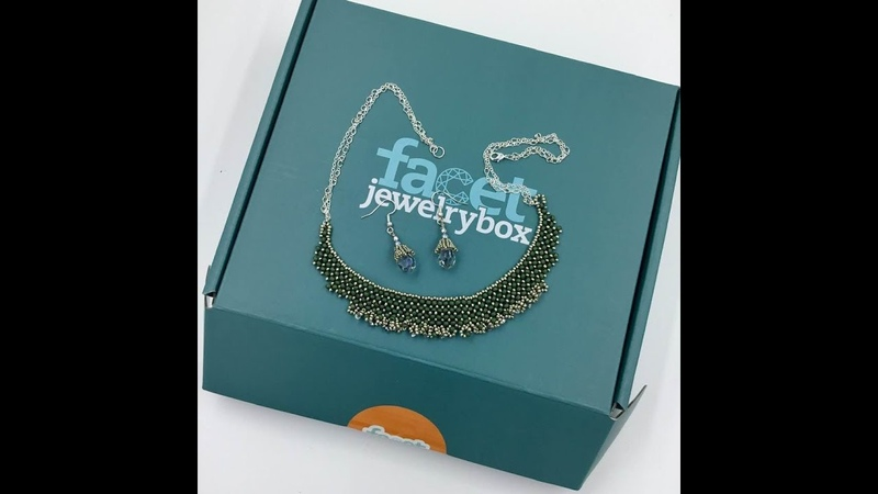 Facet Jewelry Box Subscription Review and Tutorial
