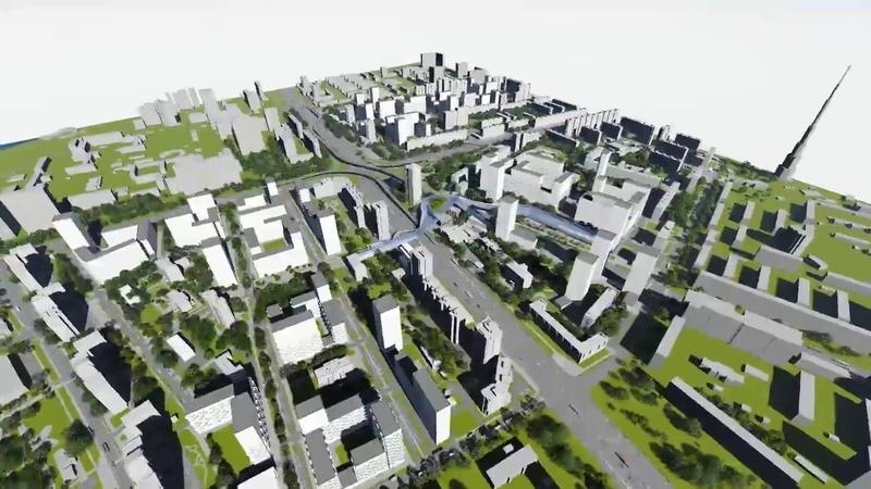Концепция реновации Хорошево-Мневников от UNK Project и Nikken Sekkei
